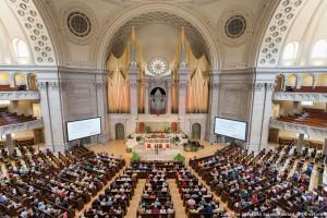Los Científicos Cristianos se reúnen en Boston en la Asamblea anual de su denominación; reflexionan sobre la pertinencia de la iglesia