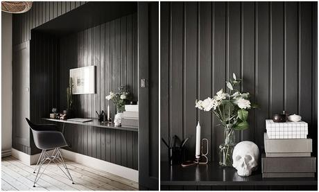 casa inspiradora en blanco y negro