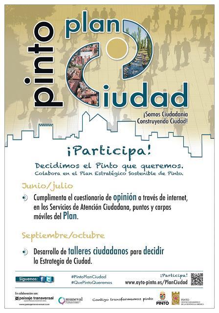 #PintoPlanCiudad: Comenzamos a diseñar la estrategia urbana de Pinto