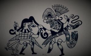 Reproducción de Enfrentamiento de Ai Apaec con un enemigo.