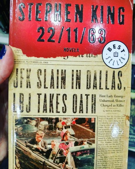 22.11.63, Stephen King, misterio, terror
