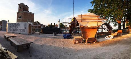 NOT-010-La Fundación Norman Foster presenta un prototipo de 'Droneport' en Venecia-6