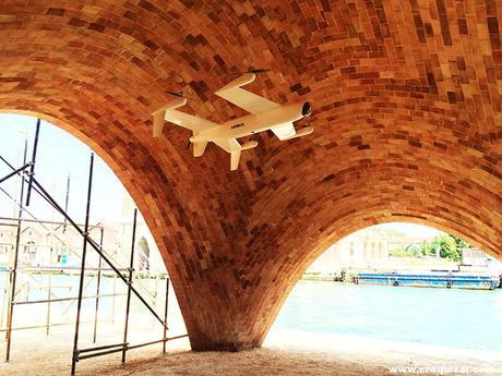 NOT-010-La Fundación Norman Foster presenta un prototipo de 'Droneport' en Venecia-3