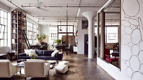 Loft en Brooklyn, con cierto toque femenino