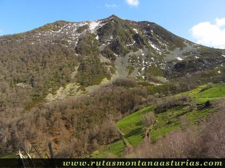 Montaña en el Parque Natural de las Fuentes del Narcea