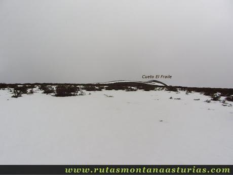 Inmediaciones de la cima del Fraile