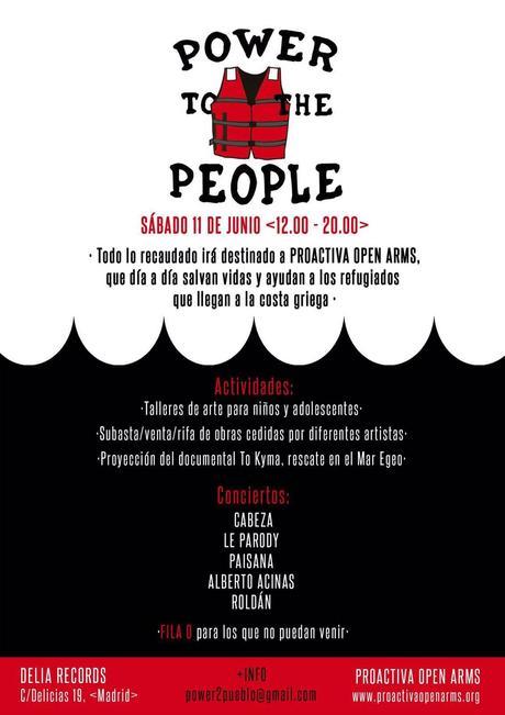 Power to the people en Delia Records