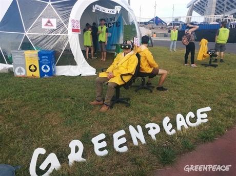 Greenpeace Tattoos at Primavera Sound Festival