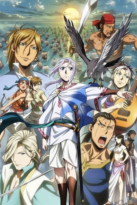 Nueva imagen promocional del anime Arslan Senki Fuujin Ranbu