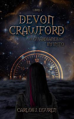 Portada Devon Crawford y los Guardianes del Infinito