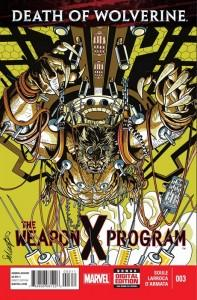 Death of Wolverine: The Weapon X Program Nº 3