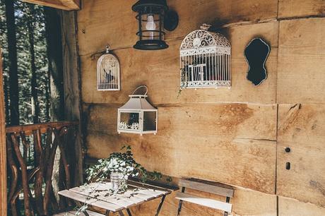 Cabaña Rustica de Madera en Arboles