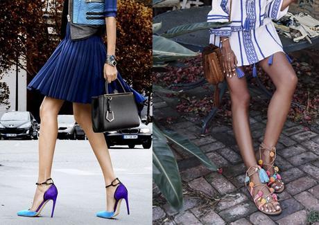 ¿Bolsos y zapatos gemelos? ¡Qué no!