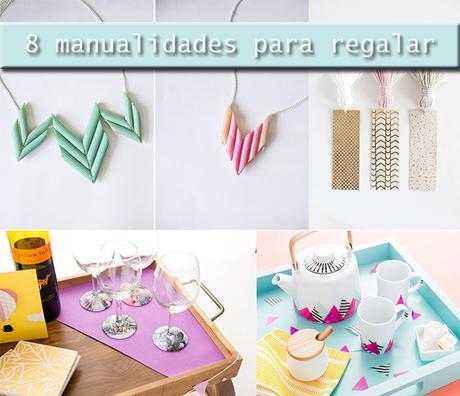 8 manualidades originales para regalar diy paperblog for Regalos originales de manualidades