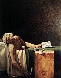 Muerte de Marat J.L. David