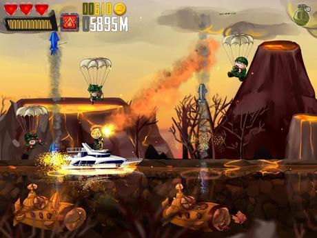 Ramboat: Hero Shooting MOD APK Unlimited Gold + Gems v3.6.0
