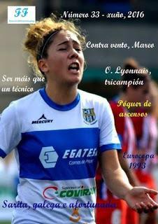 Revista Fútbol Femenino Galego, Junio 2016