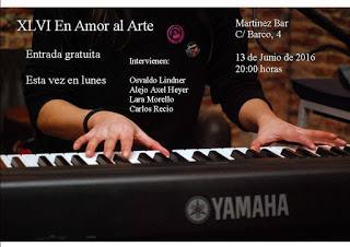 El amor al arte, edición Junio