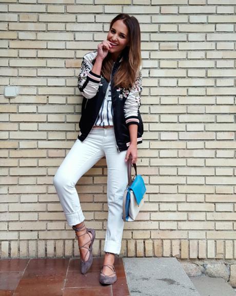 Mundo blogger: bomber jacket