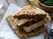 Mutabbak ternera verduras {Cocina Oriente Medio}