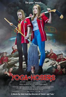 Poster y trailer de Yoga Hosers, lo nuevo de Kevin Smith