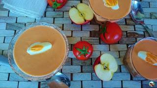 Salmorejo de melón
