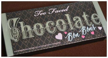 Replica / Dupe / Clon de la Chocolate Bon Bons de TOO FACED de ALIEXPRESS