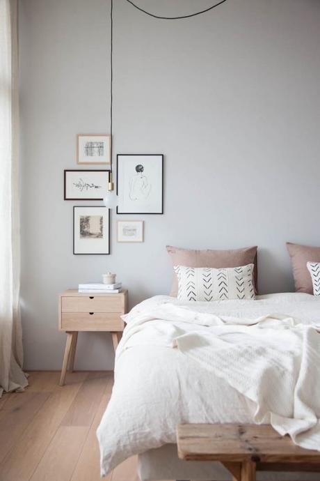 banco madera rustico dormitorio
