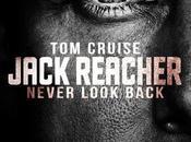 Afiche imágenes Jack Reacher: Never Back, thriller protagonizado Cruise