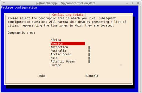 Como cambiar la zona horaria en una Raspberry PiPi