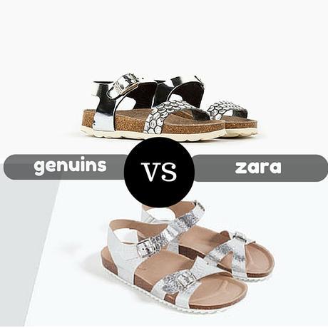 Parecidos razonables Genuins vs Zara