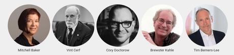 Speakers del Descentralized web summit