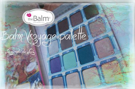 THE BALM, Balm Voyage palette