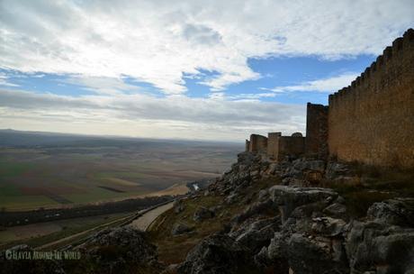 Vistas desde la fortaleza de Gormaz