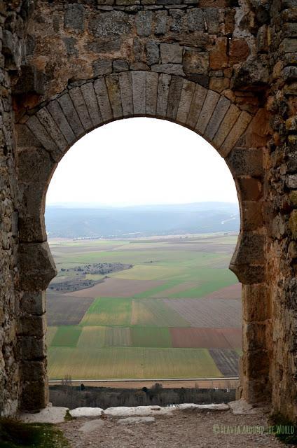 Vistas desde la puerta Califal de Gormaz