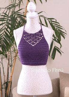 2480.- Top Crochet