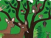 'Animales bosque' Sarah Sheppard
