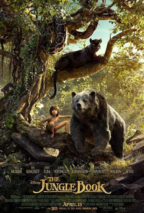 Película, cine, cartelera, The jungle Book, El libro de la Selva, Blog de Cine, Solo Yo, blog Solo yo, Blogger Alicante, NosVamosAlCine, Walt Disney, aventruas, fantastico, animación, cine familiar, animales, naturaleza, 3d,
