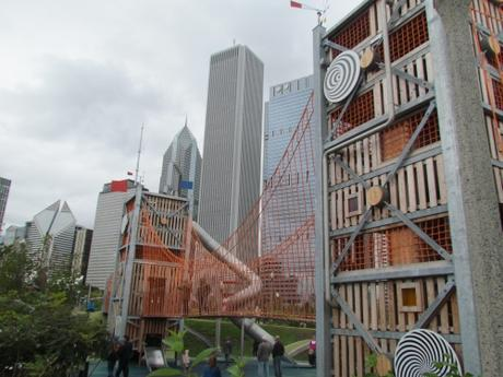 El Parque Millennium en Chicago. USA