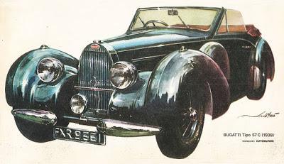 Bugatti Tipo 57 del año 1939
