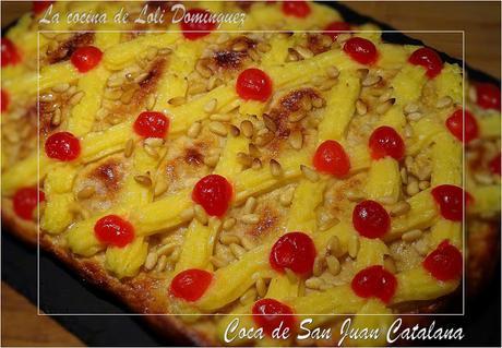 Coca de San Juan Catalana