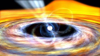 Donde termina el disco de acreción de una estrella de neutrones