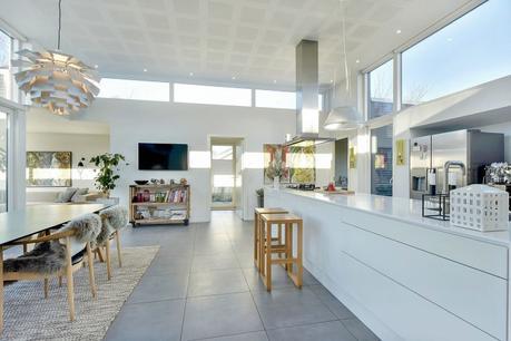 vivienda moderna Vivienda danesa paneles solares estilo nórdico energía eficiente distribución diáfana calefacción geotermica blog decoración nórdica aislamiento