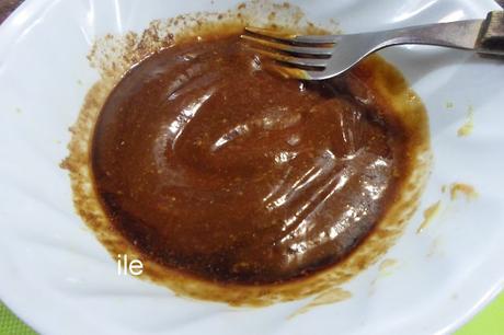 Coliflor con salsa barbacoa