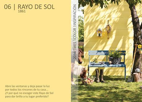 1 Mes 1 Color: Junio es Rayo de Sol
