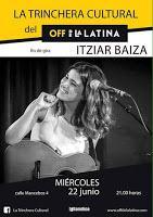 Itziar Baiza en Off de La Latina