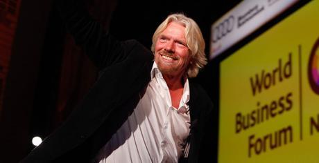 Ricchard Branson, la leyenda viva del emprendimiento y la aventura en un solo cuerpo, estuvo en Bogotá para el #WOBIbogotá
