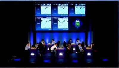 "Magnus Carlsen en el París Grand Chess Tour (5ª ronda a 25' + 10"")"