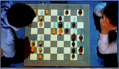 "Magnus Carlsen en el París Grand Chess Tour (4ª ronda a 25' + 10"")"