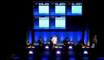 "Magnus Carlsen en el París Grand Chess Tour (3ª ronda a 25' + 10"")"